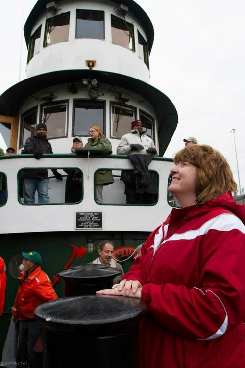 Aboard the Seaway tug