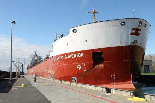 Atlantic Superior transiting the lock