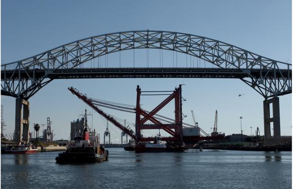 Gerald Desmond Bridge - Port of Long Beach