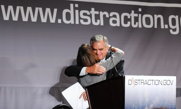 At distracted driving summit with Secretary LaHood