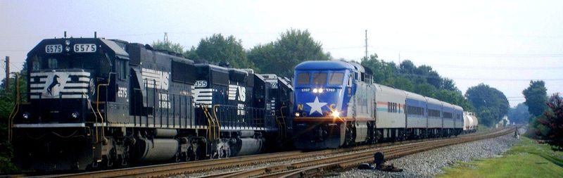 NC trains