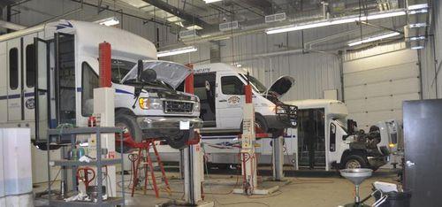 RCPT maintenance shop