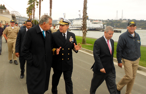 At Cal Maritime--photo credit Sarah Rohrs, Times Herald