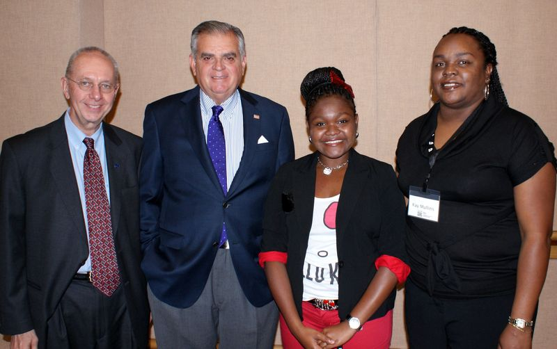 Deputy NHTSA Administrator Ron Medford with me, MJ, and her mother