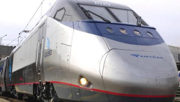 A Northeast Corridor Acela train set