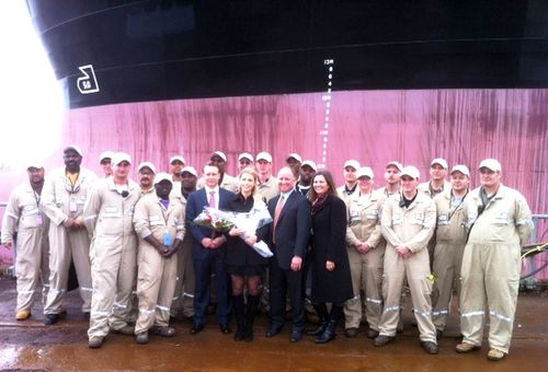 Crowley Staff at Aker Shipyard  (1)