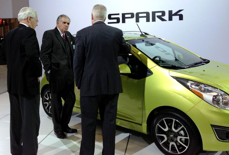 Viewing the Chevy Spark