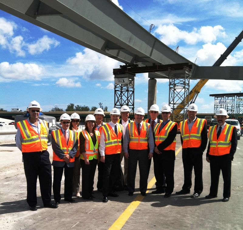 Deputy Federal Hwy Admin Visit to I-595