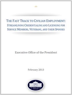 Veterans Employment Report