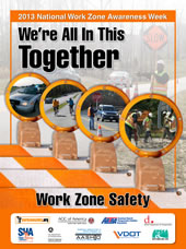 Image of the Work Zone Safety poster