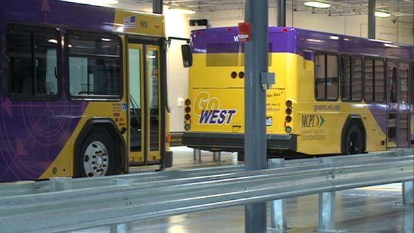 Macomb transit vehicles