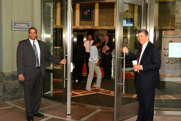 Deputy Secretary John Porcari and Asst Secretary for Administration Brodi Fontenot