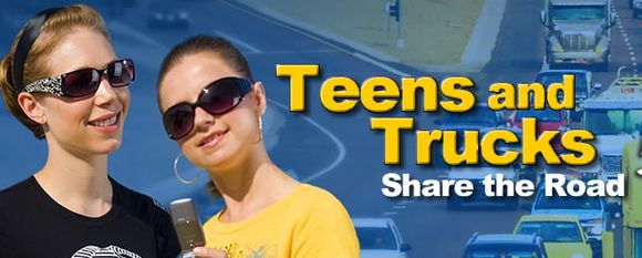 Teens and trucks