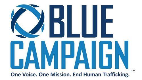 Visit Blue Campaign website on dhs.gov