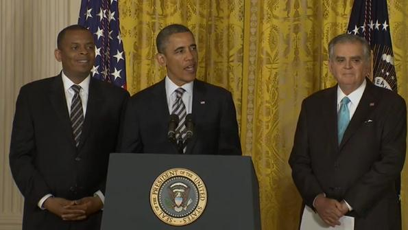 President Obama makes the announcement