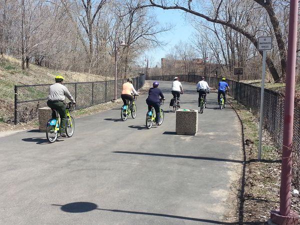 Bike tour of Minneapolis