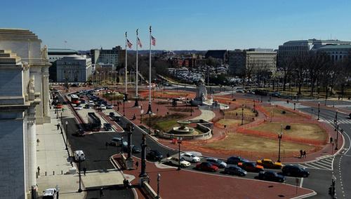 Columbus Plaza after