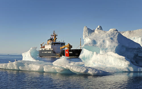 US Coast Guard in Arctic