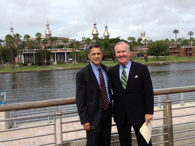 Administrator Mendez with Tampa Mayor Bob Buckhorn