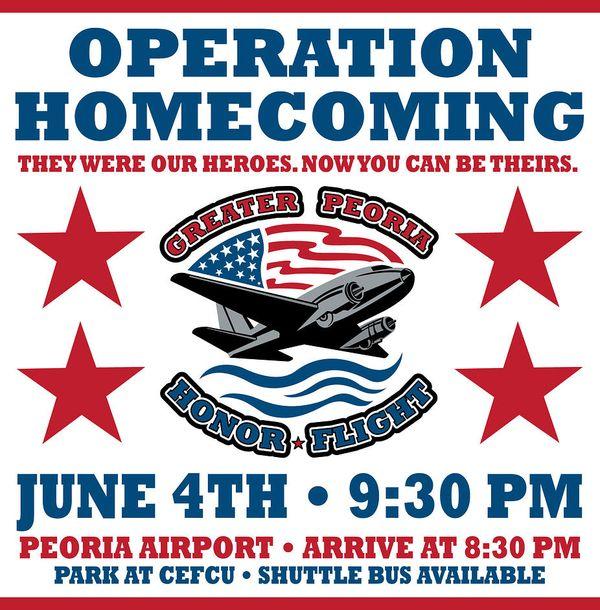 Peoria Honor Flight Poster