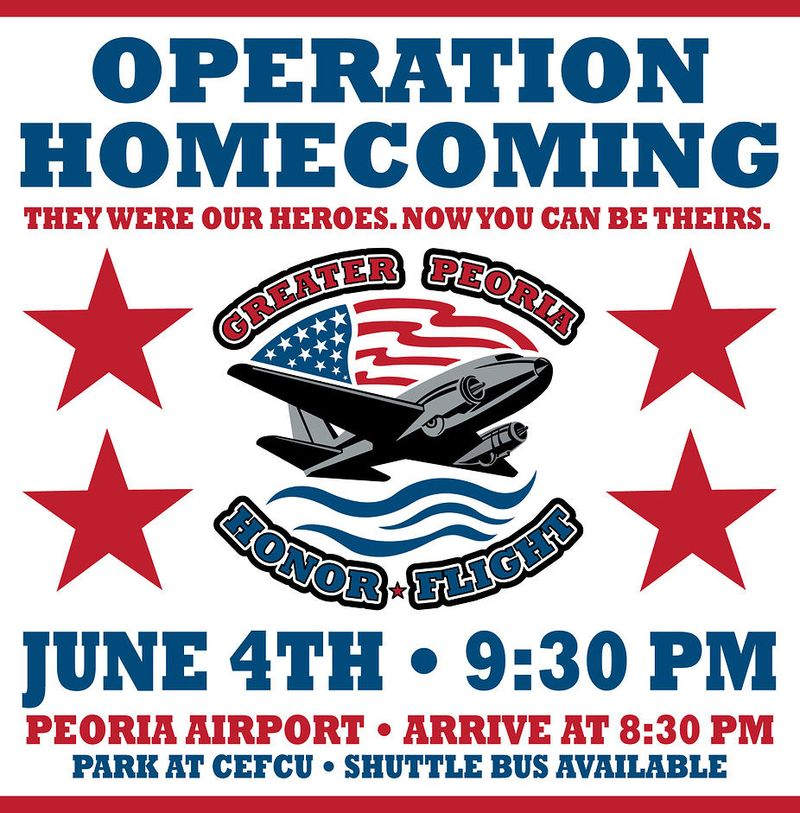 Peoria Honor Flight Poster