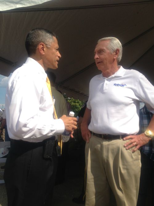 With Governor Beshear