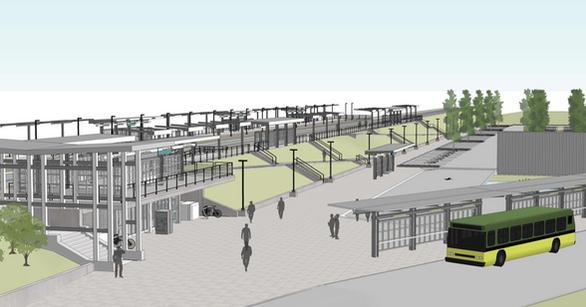 Tukwila Station rendering