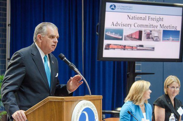 Speaking at NFAC