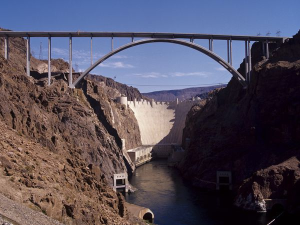 New Hoover Dam crossing